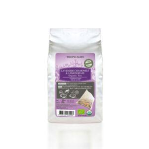 ชาดอกลาเวนเดอร์คาโมมายล์และตะไคร้ออแกนิคแบบซองชา LAVENDER CHAMOMILE LEMONGRASS TEA (TEA BAG) 2g*20pcs.