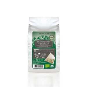 ชาตะไคร้ผสมใบเตยออแกนิคแบบถุง LEMONGRASS PANDANUS TEA - ORGANIC (TEA BAG) 1.5g*20pcs.