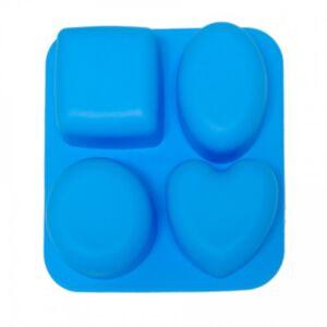 SOAP SILICONE MOLD - แม่พิมพ์สบู่ ซิลิโคน รูปหัวใจ วงกลม 2