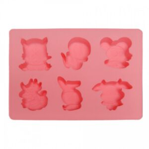 SOAP SILICONE MOLD - แม่พิมพ์สบู่ ซิลิโคน รูปสัตว์ 2