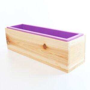 SOAP SILICONE MOLD 1300ml-แม่พิมพ์สบู่ ซิลิโคน พร้อมกล่องไม้
