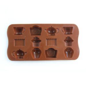 SOAP SILICONE MOLD - แม่พิมพ์สบู่ ซิลิโคนแฟนซี รูปถ้วยชา และขนมต่างๆ
