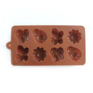 SOAP SILICONE MOLD - แม่พิมพ์สบู่ ซิลิโคน แฟนซีรูปผีเสื้อ ดอกไม้ เต่าทอง และผึ้ง