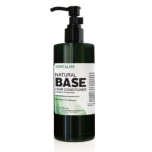 BASE NATURAL HAIR CONDITIONER WITH COCONUT AND ARGAN OIL 250g *สินค้าหมดอายุ 13/09/2021*