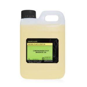 LEMONGRASS FOOT MASSAGE OIL 1000ml (99.9% NATURAL) *สินค้าหมดอายุ 23/09/2021*