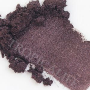 MICA SHIMMER POWDER - BLACK STAR RED