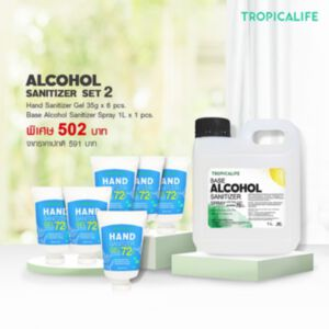 ALCOHOL SANITIZER SET2