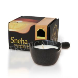 BEAUTIFUL FLOWER SNEHA HOT MASSAGE CANDLE 50g