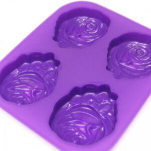 SOAP SILICONE MOLD - แม่พิมพ์สบู่ ซิลิโคน รูปกุหลาบ 1