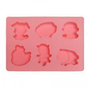 SOAP SILICONE MOLD - แม่พิมพ์สบู่ ซิลิโคน รูปสัตว์ 1