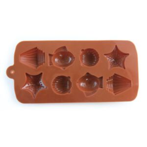 SOAP SILICONE MOLD - แม่พิมพ์สบู่ ซิลิโคนแฟนซี รูปปลาดาว ปลาทะเล และหอย
