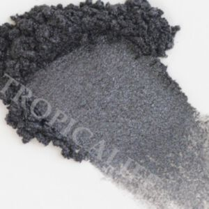 MICA SHIMMER POWDER - LUSTER BLACK