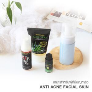 ANTI ACNE FACIAL SKIN SET