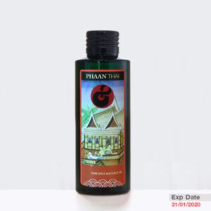 PHAAN THAI SIAM SPICE MASSAGE OIL 100ml (สินค้าหมดอายุ 31/01/2020)