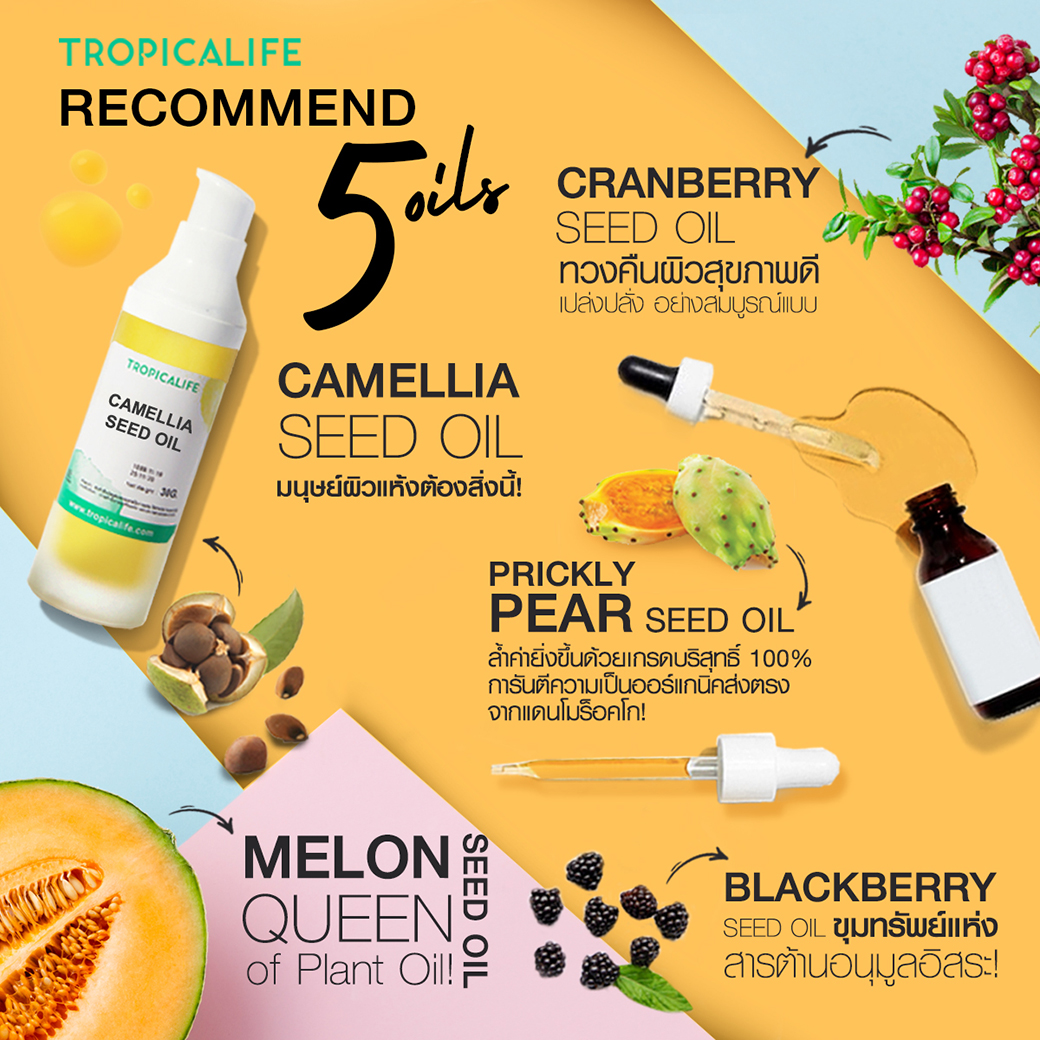 Recommend 5 Oils