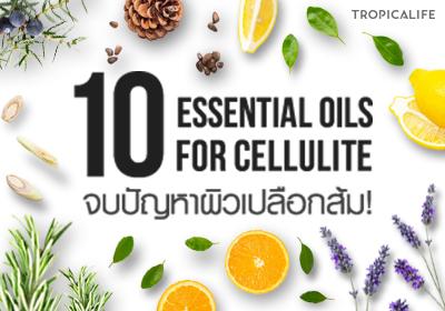 10 Essential Oils for Cellulite จบปัญหาผิวเปลือกส้ม!